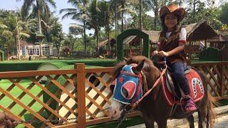 Zara Cute Naik Kuda untuk Anak | Taman Main Anak | Lets Play - Riding Horse