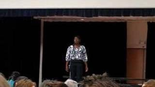 Terica Clark sings