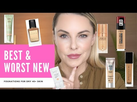 BEST & WORST NEWLY LAUNCHED FOUNDATIONS DRY 40 Skin