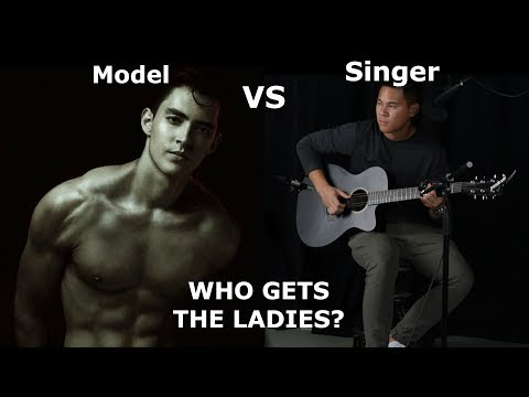 MODEL vs. SINGER! | Who Gets the Ladies? (Public Experiment)