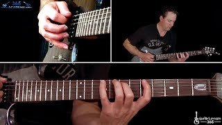 Metallica - The Call of Ktulu Guitar Solo - Note-for-note tutorial