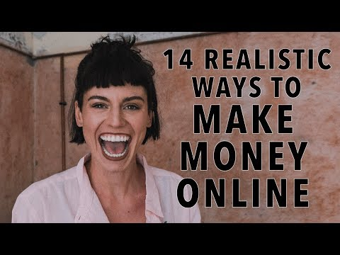 14 Realistic Ways To Make Money Online Real Life Examples on How To Become a Digital Nomad