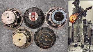 5 Versions of The World's Greatest Guitar Speaker