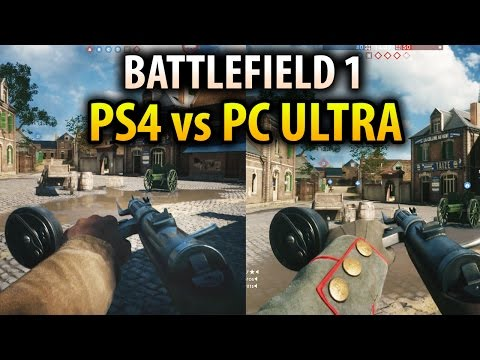Xxx Mp4 Battlefield 1 PS4 VS PC Ultra Settings Graphics Comparison Gameplay 3gp Sex