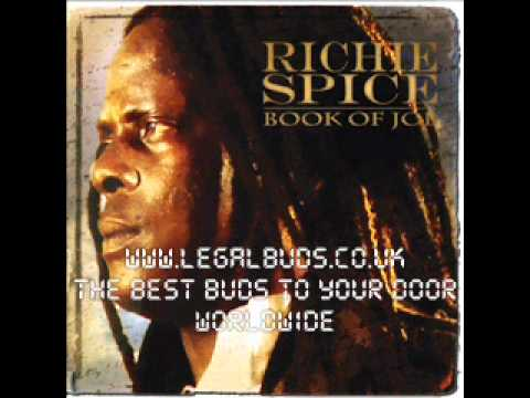 Better Tomorrow - Richie Spice - Book Of Job - 2011 NEW REGGAE ALBUM