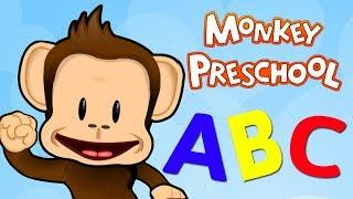 Kids Learn Letters & Spelling Words With Monkey Word School Adventure Educational Children