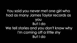 Begin Again -Taylor Swift (Lyric Video)