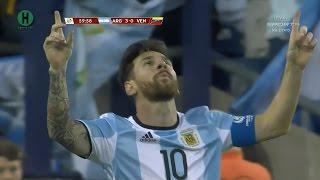 اهداف مبارة الارجنتين و فنزويلا 4-1 كوبا أمريكا المئوية 19-6-2016