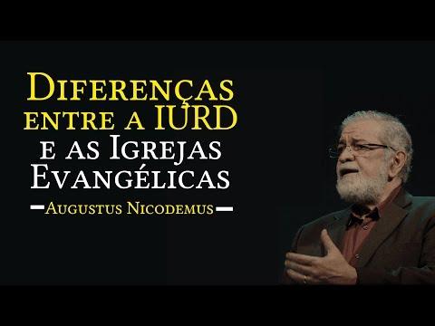 Diferenças entre a IURD e as Igrejas Evangélicas | Rev. Augustus Nicodemus