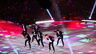 BTS - KCON 2014 in LA (M! Countdown) 140810 [FULL FANCAM]