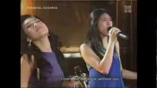 Air Supply Medley: Rachelle Ann Go and Sarah Geronimo