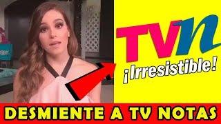 Tania Rincon Humilla a TV Notas tras Publicar Nota Falsa