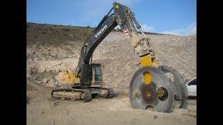 Mega Giant  Rock  Cutting  Machines !