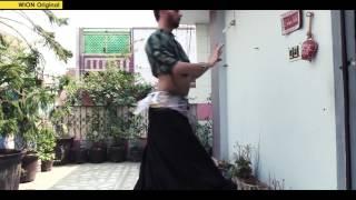 Eshan Hilal - A male bellydancer