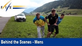 Who is the Strongest Swiss Alpine Skier? Gstaad Summer Camp - Behind the Scenes - Mens