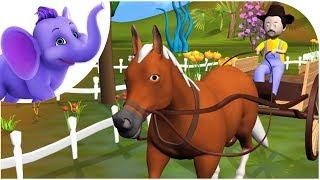 I've got a Horse - Nursery Rhyme with Karaoke