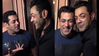 Salman Khan DRUNK With Bobby Deol Before Race 3 Shoot
