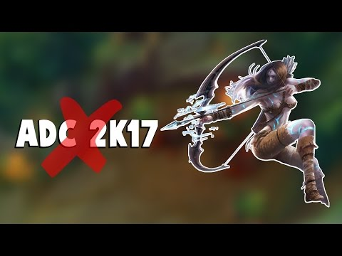 watch ASHE GUY RUINS ADC IN 2K17 MEME...| Funny LoL Series #61