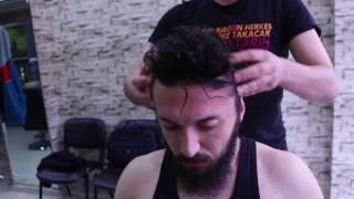 ASMR Turkish Barber Face,Head and Body Massage 29