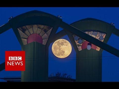 Xxx Mp4 39 Super Snow Moon 39 Lights Up The Skies BBC News 3gp Sex