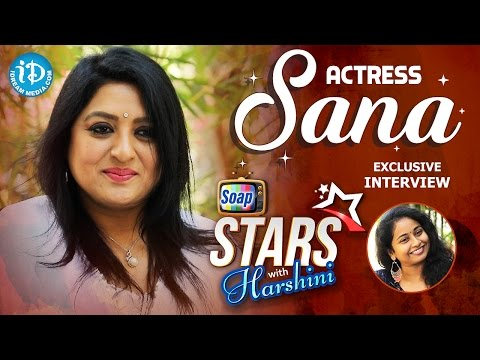 Xxx Mp4 Actress Sana Exclusive Interview Soap Stars With Harshini 1 3gp Sex