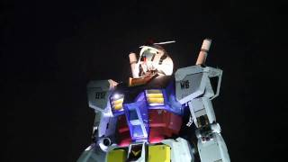 1/1 Real Scale GUNDAM 首振りとミスト