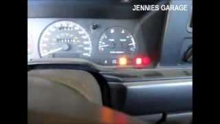 1984-1994 Ford Self Diagnostics Test - KOER ( Key On Engine Running )