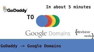 How to transfer domains from GoDaddy to Google Domains in about 5 minutes