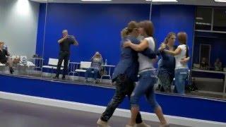 Daniela Arcuri Tango Class demonstration 3/2/16