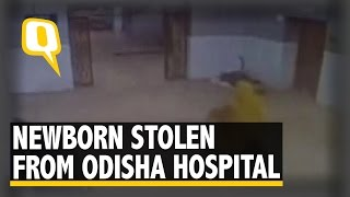 The Quint: Woman Caught on CCTV Allegedly Stealing Baby From Odisha Hospital