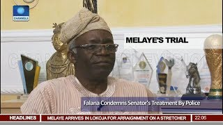 Falana Condemns Dino Melaye's Treatment By Police Pt 1 | News@10 |