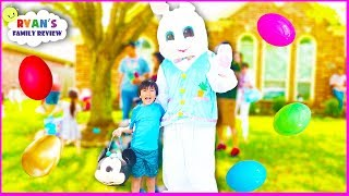 Kids Easter Egg Hunt with the Real Easter Bunny and Ryan
