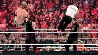 Undertaker and Kane fight off their attackers: Raw, July 23, 2012