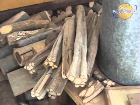 A arte de fazer arte Júlio César A arte com madeiras