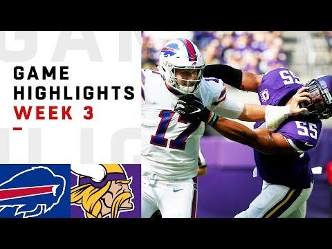 Xxx Mp4 Bills Vs Vikings Week 3 Highlights NFL 2018 3gp Sex