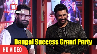 R.Madhavan At Aamir Khan's Dangal Grand Success Party | Viralbollywood