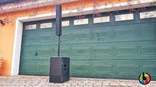 dB Technologies ES 1203 Test und Soundcheck indoor & outdoor