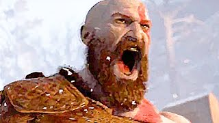 GOD OF WAR Gameplay Trailer 2016 - PS4