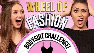 BODYSUIT CHALLENGE?! Wheel of Fashion w/ Roxette Arisa & Courtney Randall