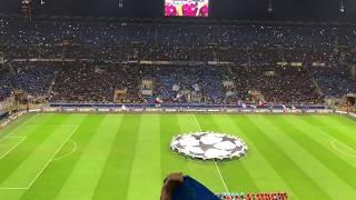 INTER-BARCELLONA 1-1 INNO CHAMPIONS E REAZIONE GOL ICARDI 87