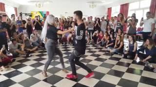 Sarah Lopez & Reda ~ Urban Bachata ~ Festival SBK 2016 Rouen
