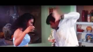 Tamil side actress usha hot navel show
