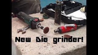 lidl's electric die grinder vs knackered air powered