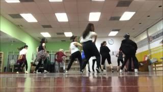4MINUTE-CRAZY DANCE MIRROR PART1 (TUESDAY CLASS)