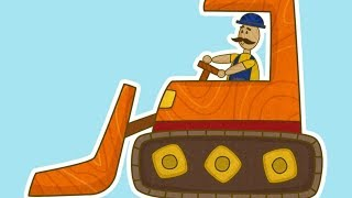 Car Toons Bulldozer. Car cartoon & baby cartoon. Vehicles for kids & cars games. Bulldozer for kids.