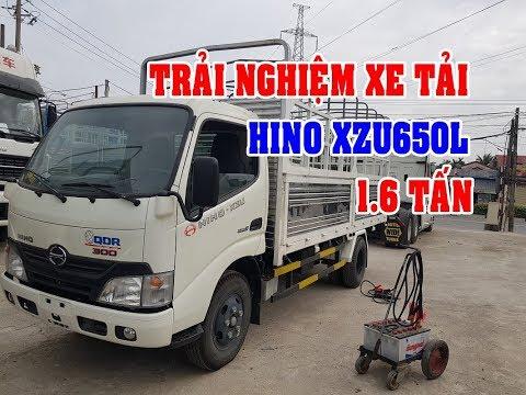 Bán xe Hino 1.6 tấn XZU 300 Series thùng 4.5m vào thành phố tự do