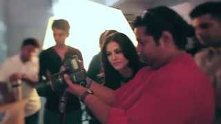 Making of Sunny Leone Photo-shoot for MANDATE cover, April 14