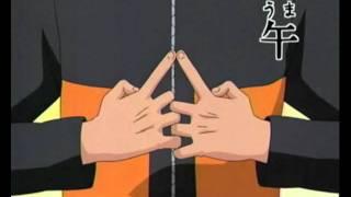 Naruto - Fire Style Fireball Jutsu Hand Signs