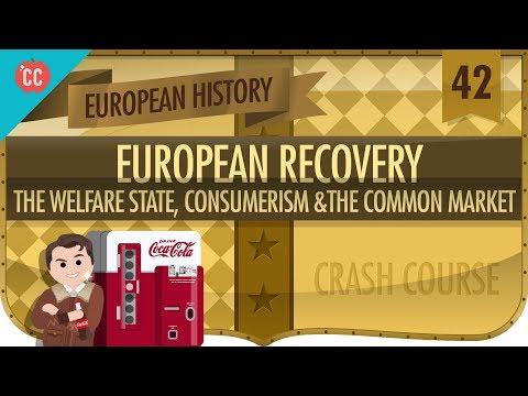 Post World War II Recovery Crash Course European History 42
