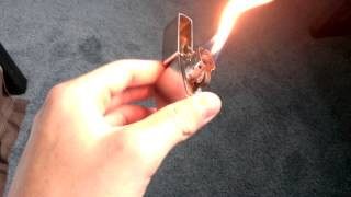 Alternative Zippo Fuel That Actually Works